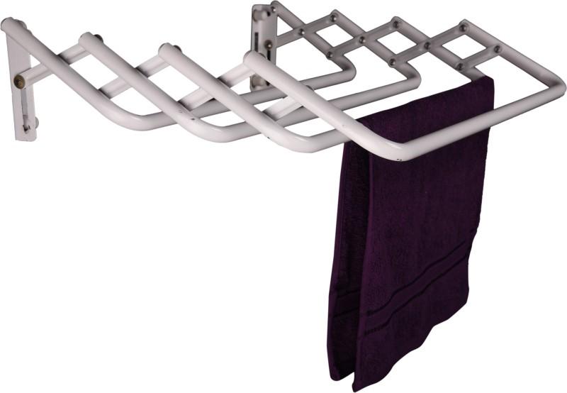 Pull n Dry Wall Mounting Crisscross 2x2 Aluminium Clothesline(0.6 m)