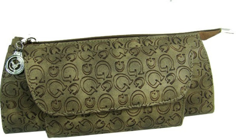 Essart Girls Casual Brown Tyvek Wallet(2 Card Slots)
