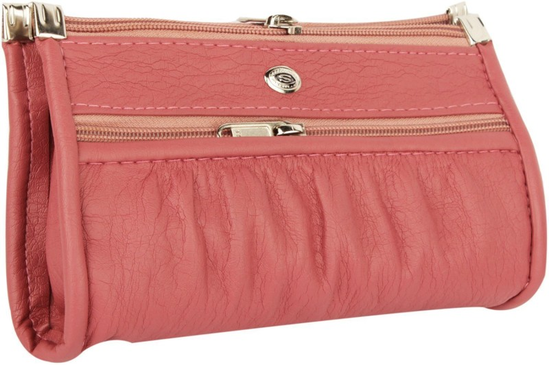 Rapidcostore Women Casual Pink Clutch