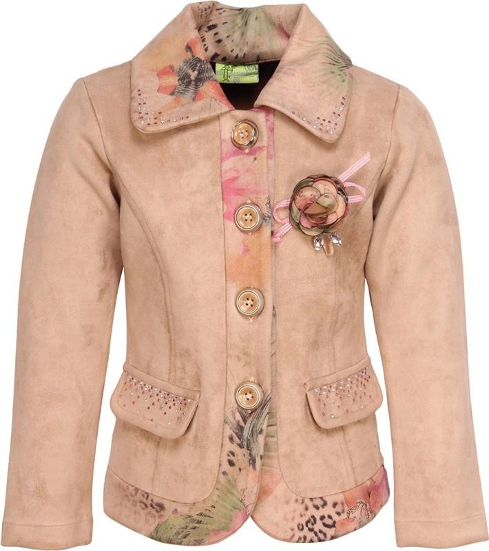 Cutecumber Baby Girls Single Breasted Coat