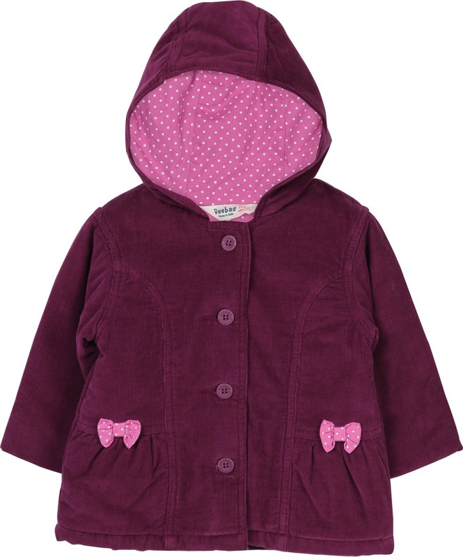 Beebay Baby Girls Single Breasted Coat
