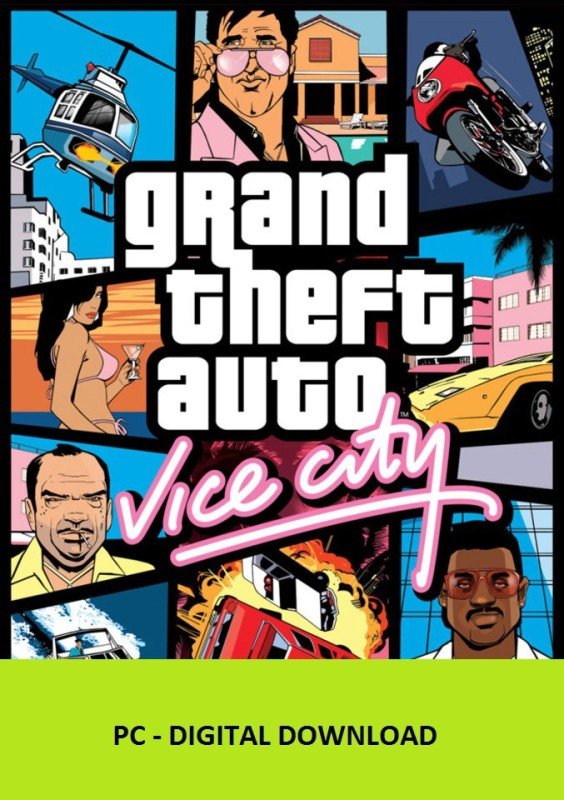 Grand Theft Auto: Vice City(Code in the Box - for PC)