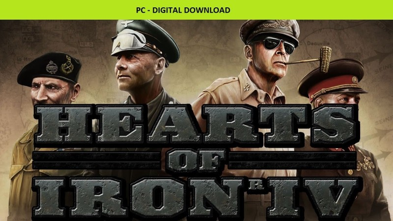 Hearts of Iron IV(Code in the Box - for PC)