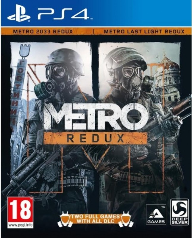 Metro Redux Limited Edition(Code in the Box - for PS4)