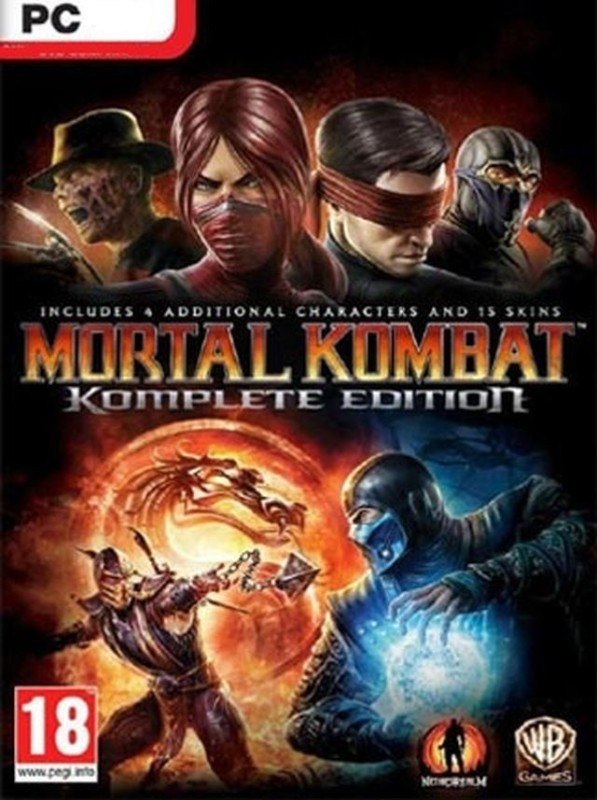 Mortal Kombat: Komplete Edition with Game and Expansion Pack(Code in the Box - for PC)
