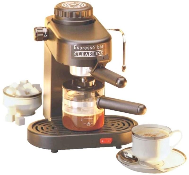 Clearline APPCLR004 4 cups Coffee Maker(Black)