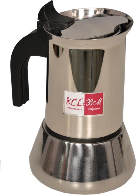 KCL Percolator 4 cups Coffee Maker(Silver)