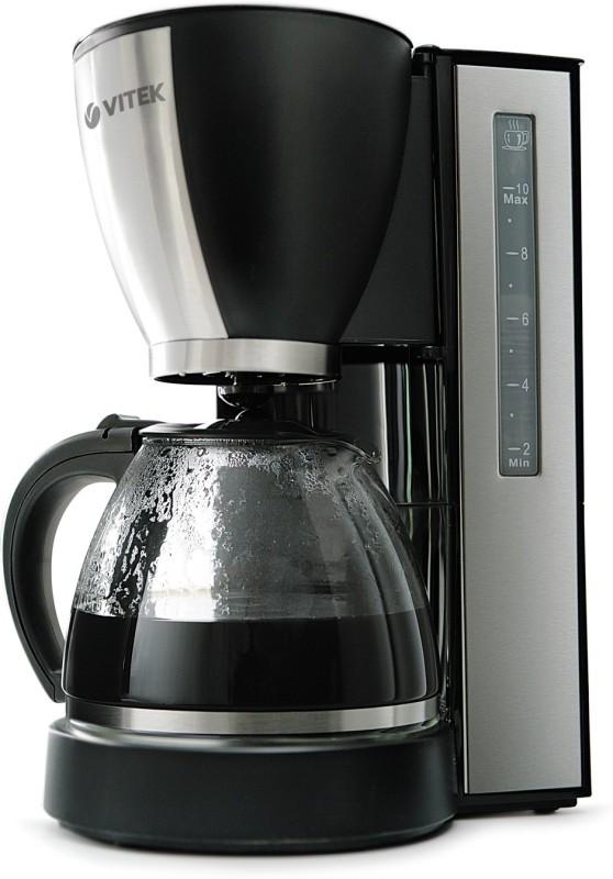 VITEK VT-1509 BK-I 12 cups Coffee Maker(Black & Silver)
