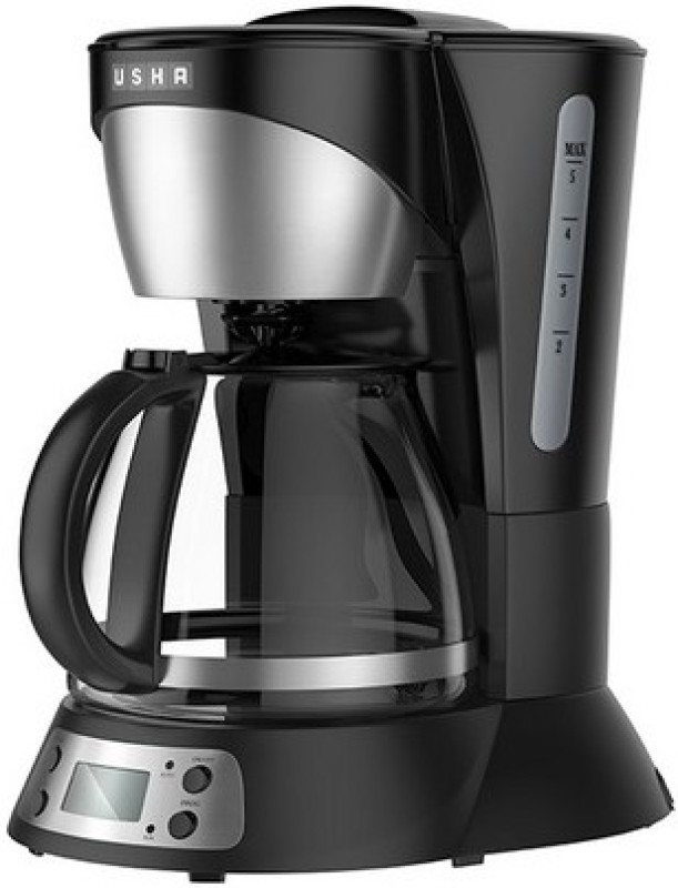 Usha CM3320 12 Cups Coffee Maker(Black)