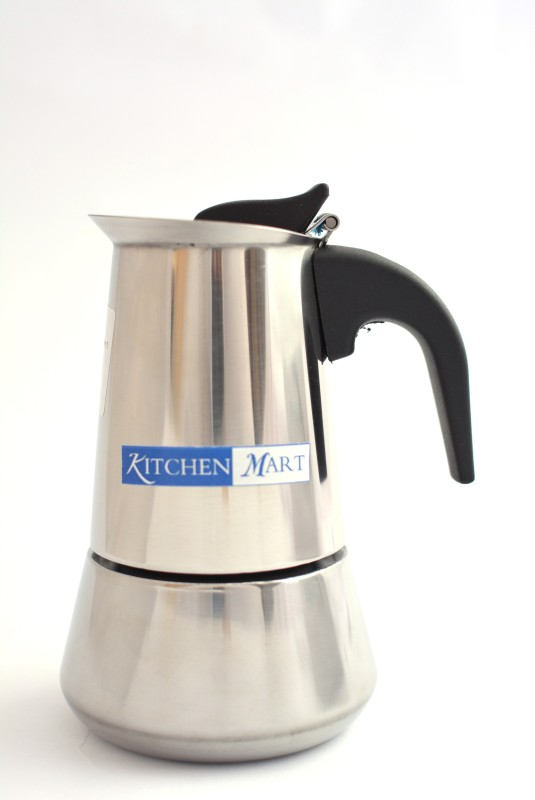Kitchen Mart Percolator 220ml 2 cups Coffee Maker(Steel)