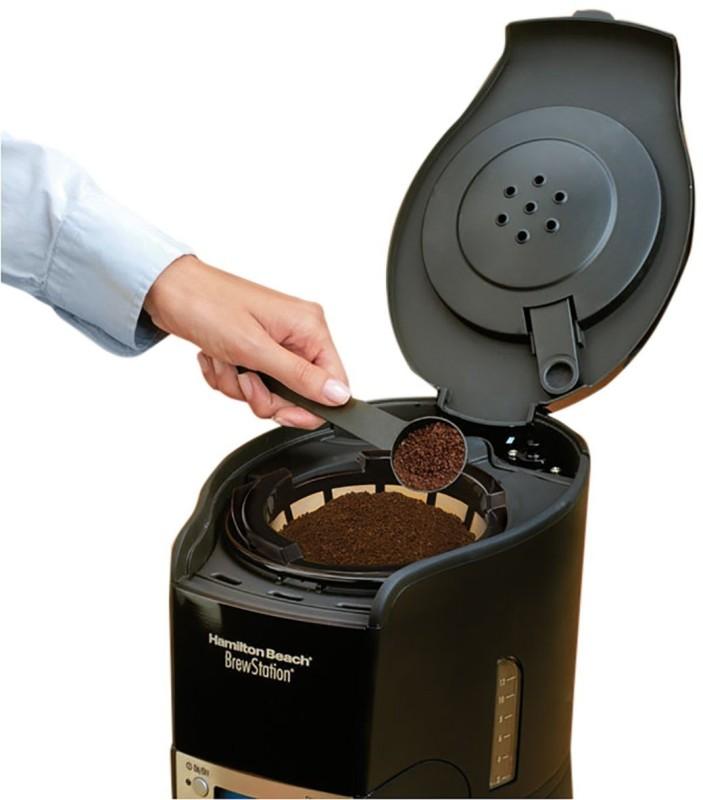 Hamilton Beach BrewStation Summit Black Ice 48467 12 Cups Coffee Maker