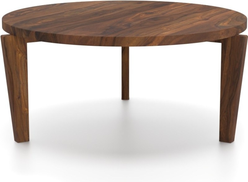 Urban Ladder Mustang Solid Wood Coffee Table(Finish Color - Teak)