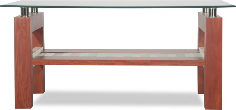 Godrej Interio Alice Engineered Wood Coffee Table(Finish Color - Cherry)