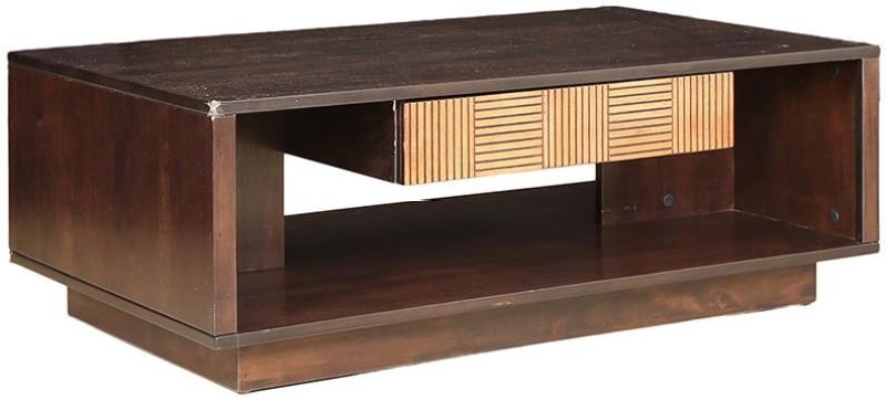 HomeTown Seinna Engineered Wood Coffee Table(Finish Color - Ebony)