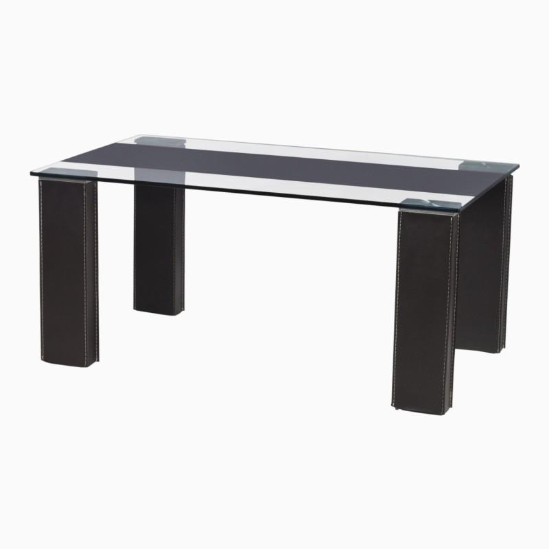 Godrej Interio CRYSTALLINE COFFEE TABLE Glass Coffee Table(Finish Color - Black)