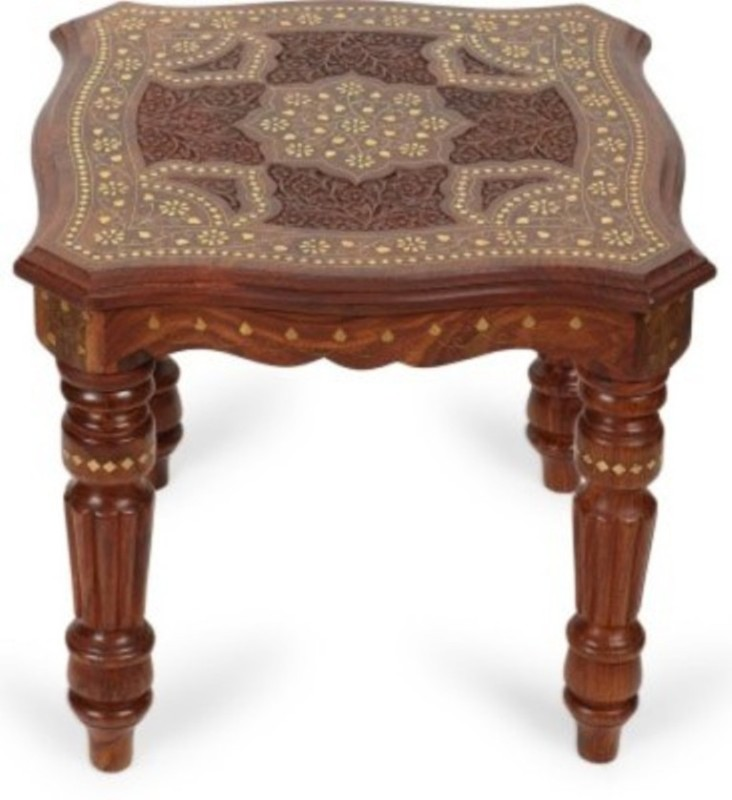 VAS Collection Home Solid Wood Coffee Table(Finish Color - Brown)