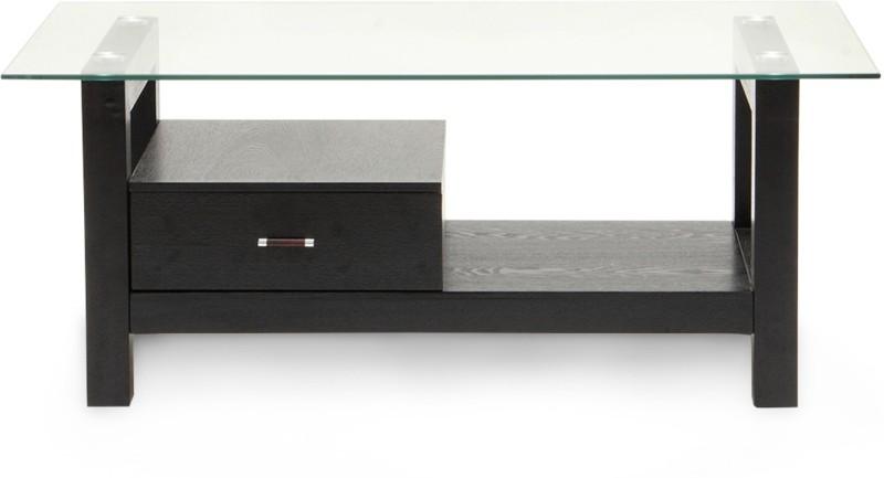 HomeTown Aldo Centre Engineered Wood Coffee Table(Finish Color - Walnut)