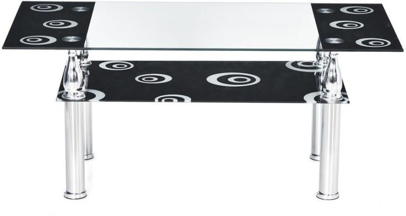 Nilkamal Corolla Metal Coffee Table(Finish Color - Black)