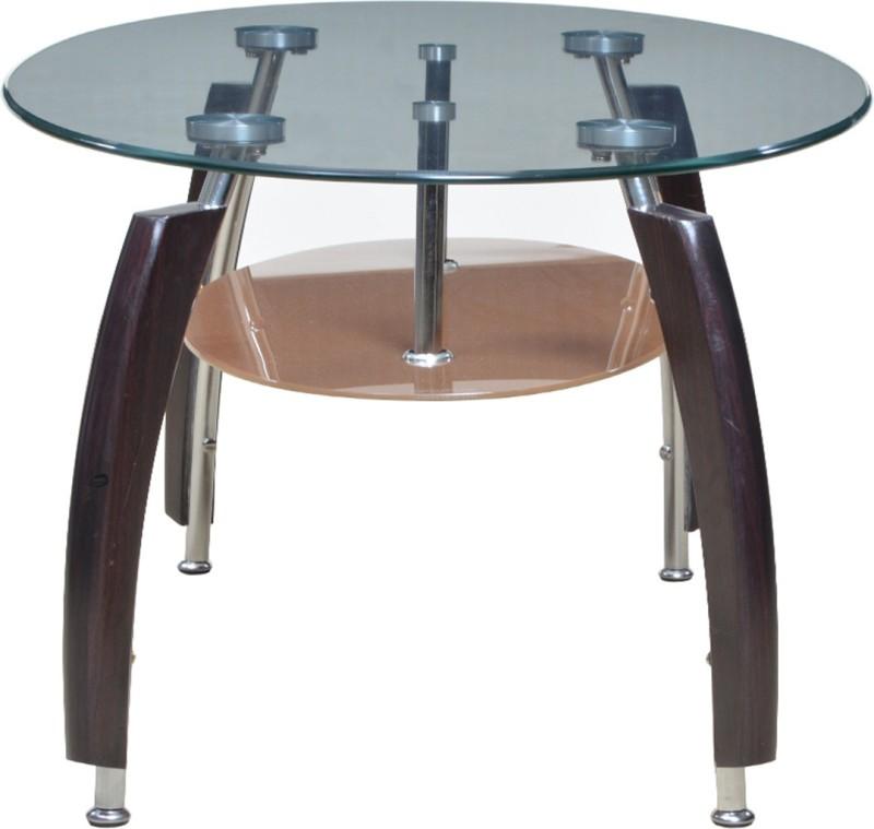 HomeTown Carlo Metal Coffee Table(Finish Color - Brown)