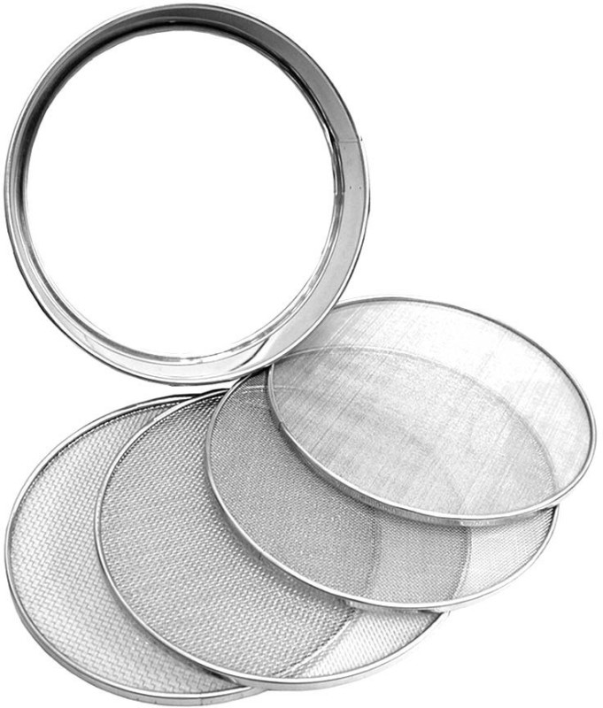 Champak Strainer(Steel Pack of 1)