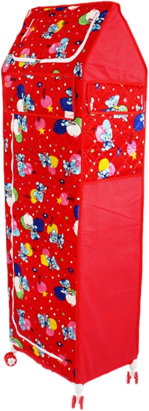amardeep-celebration-pp-collapsible-wardrobefinish-color-red