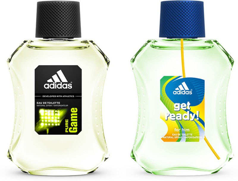 Adidas Get Ready & Pure Game Gift Set  Combo Set(Set of 2)