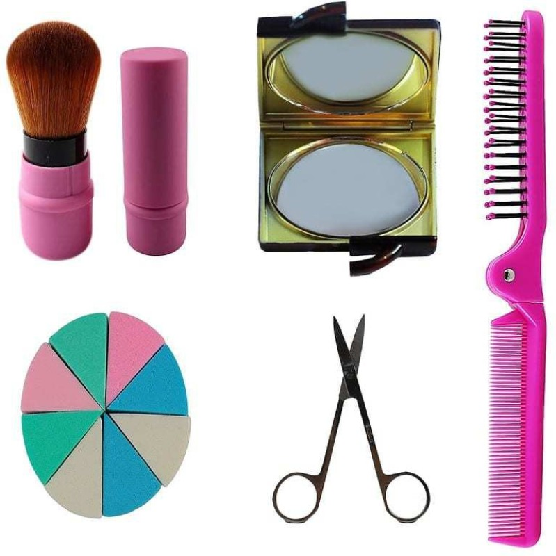 Ear lobe & accessories Personal /Professional Travel Make up Combo Combo Set