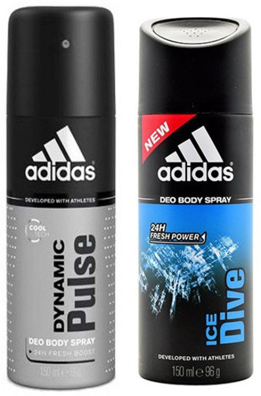 Adidas Dynamic pulse & Ice Dive Combo Set(Set of 2)