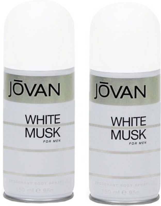 Jovan White Musk and White Musk Combo Set(Set of 2)