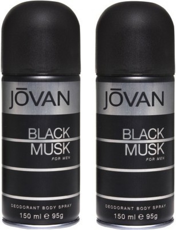 Jovan Black Musk and Black Musk Combo Set(Set of 2)