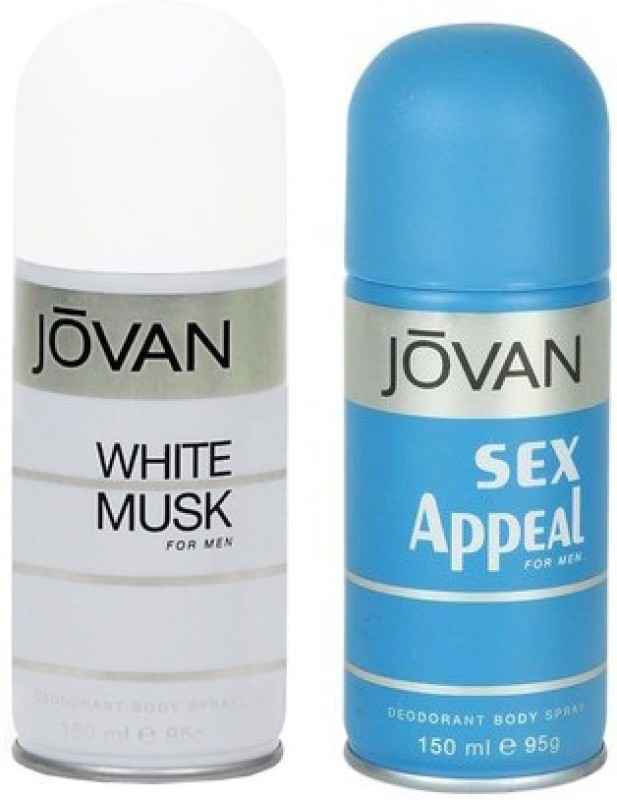 Jovan White Musk and Sex Appeal Combo Set(Set of 2)
