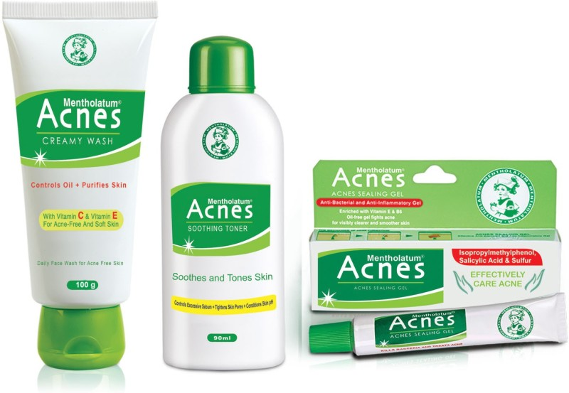 Acnes Treatment Kit(Set of 3)