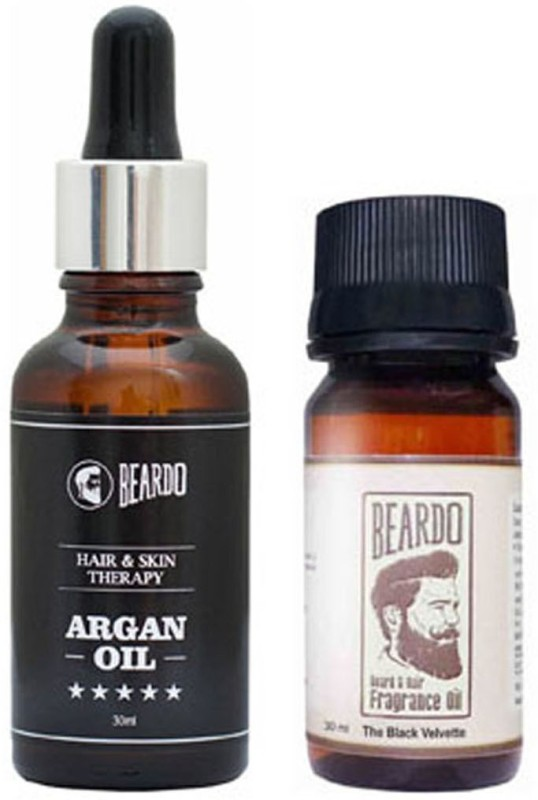 Beardo Argan-Black Velvette oil 30ml(Set of 2)