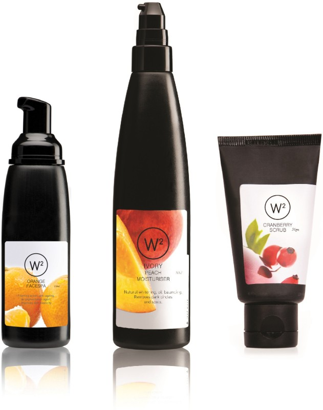 W2 Face Spa Starter Kit(Set of 3)