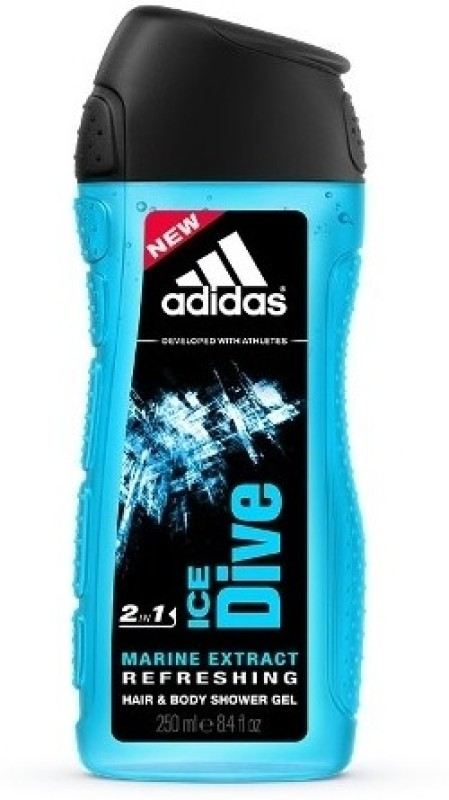 Adidas Ice Dive Hair & Body 2-in-1(250 ml)