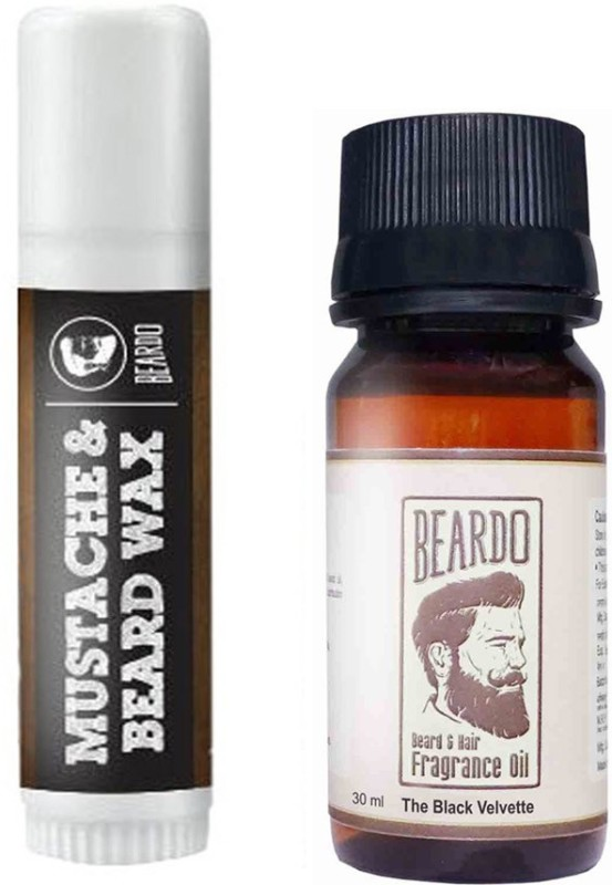 Beardo Waxstick 4gm and Black Velvette Oil 30ml(Set of 2)