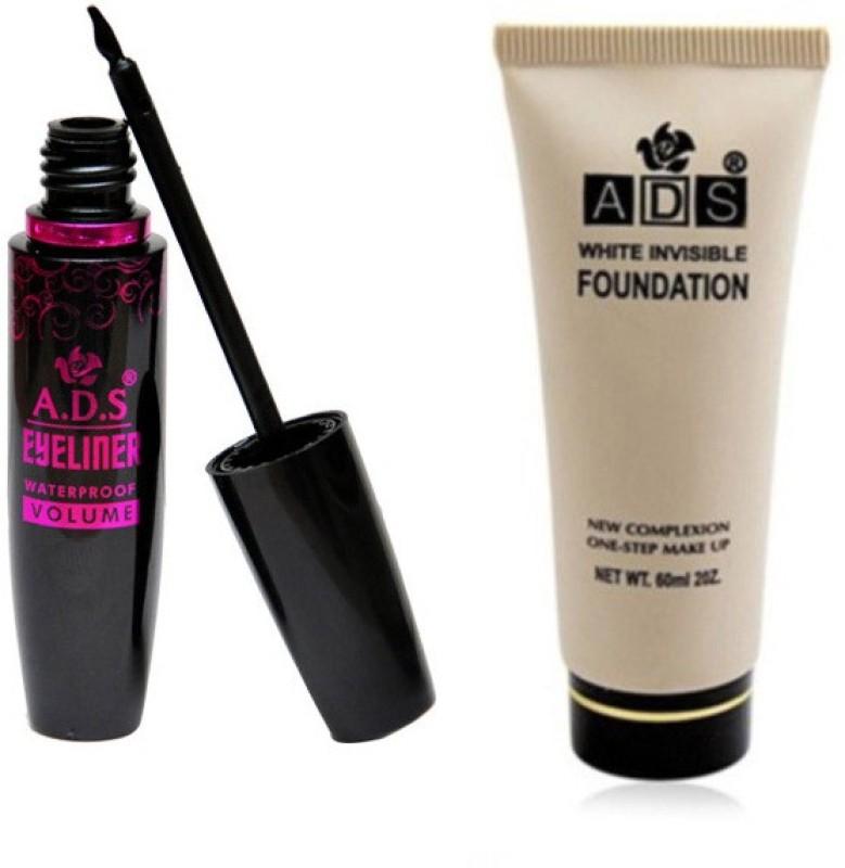ADS 1625 Eyeliner, Foundation(Set of 2)