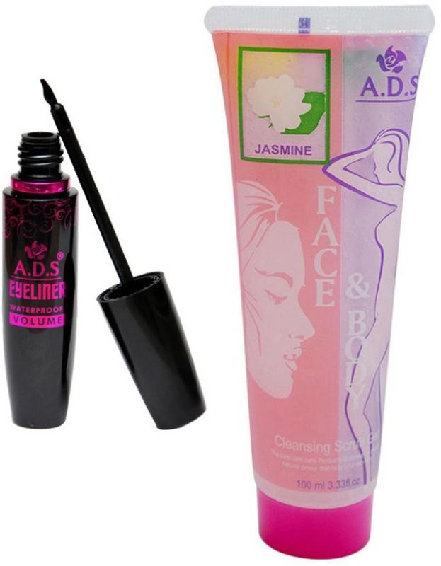 ADS 1625 Eyeliner, Jasmine Cleansing Gel(Set of 2)