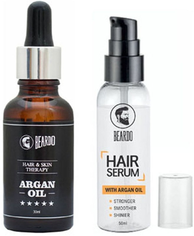 Beardo Argan oil 30ml and HairSerum 50ml(Set of 2)