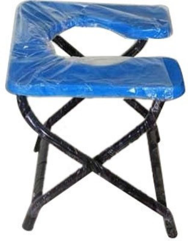 MEDI-SURGE POINT Heavy Material Commode Chair(Blue, Purple, Black)