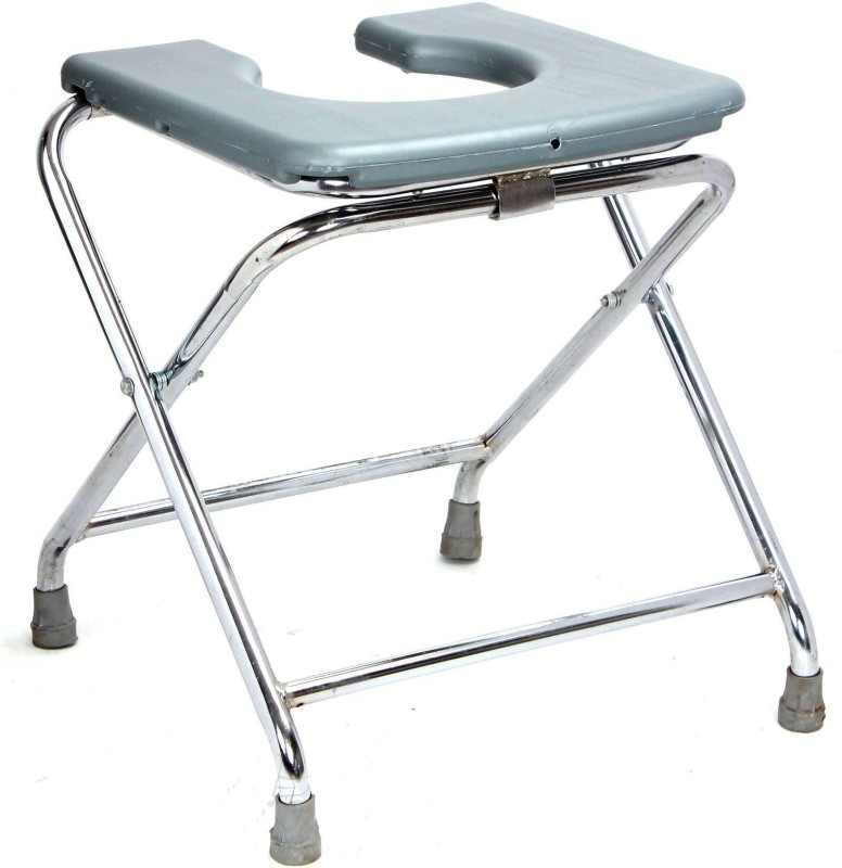 MEDI-SURGE POINT Heavy duty Commode Chair(Grey)