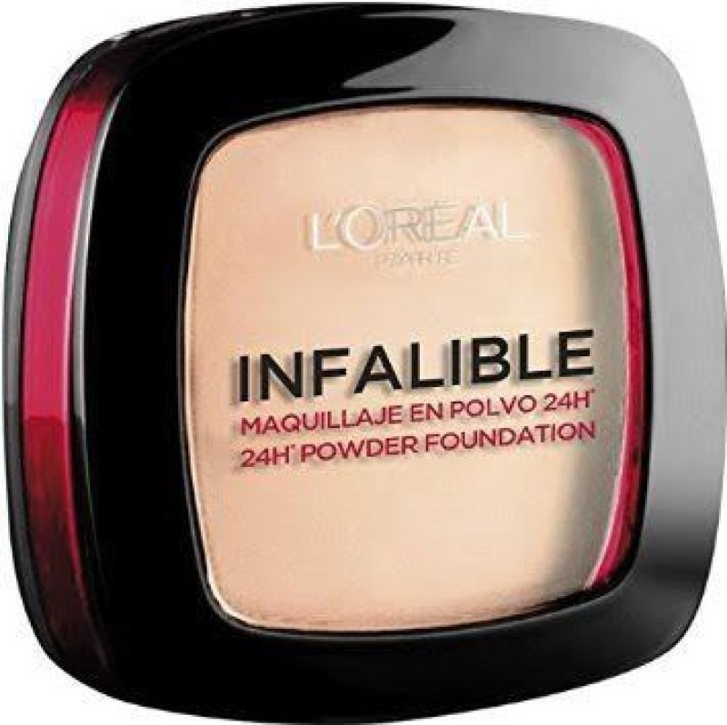 LOreal Paris Infalible 24H Powder Foundation Compact(225 Beige)