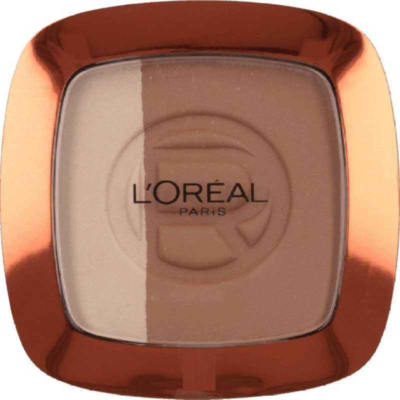 LOreal Paris Glam Bronze Compact - 8 g(102 Harmony Brown)