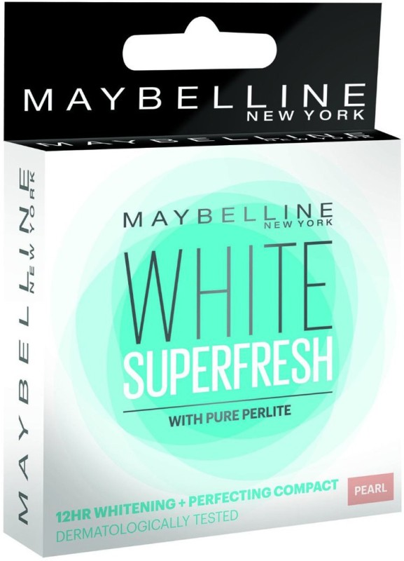 Maybelline White Super Fresh Compact - 8 g(Pearl)