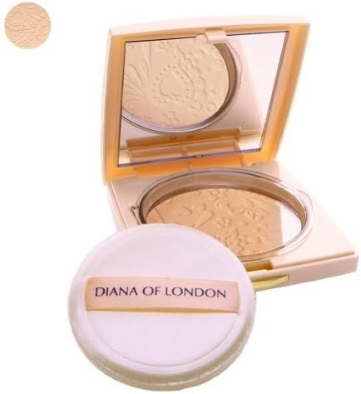 Diana of London Absolute Stay Compact Powder Compact(402-Fresh Coral, 9 g)