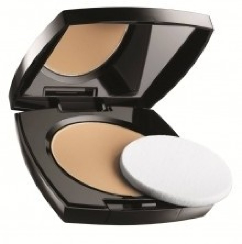 Avon Ideal Luminous Pressed Powder (Deep Wheat) Compact - 11 g(Khaki)