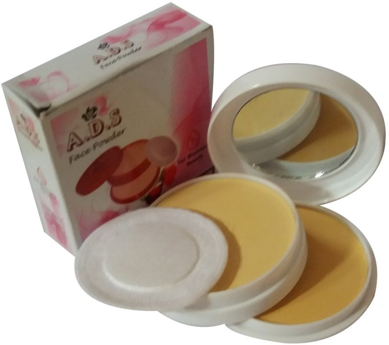 ADS New-Fashion-Beautifying-Function-to-make-your-skin-be-much-more-smooth-face-Powder Compact - 24 g(Natural)