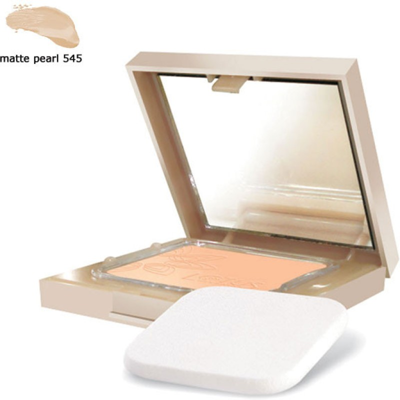 Lotus Pure Radiance Natural Compact SPF 15 Compact - 9 g(Matte Pearl 545)