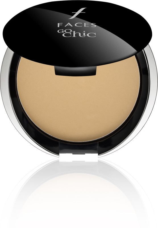 Faces Canada Go Chic Pressed Powder Compact(Beige, 9 g)
