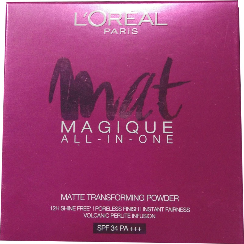 LOreal Paris Mat Magique All-In-One G1 Vanilla Ivory Compact - 6 g(Beige)